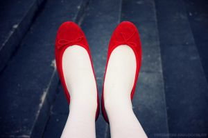 The red shoes by french-diary