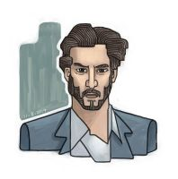 Keanu Reeves by Riverlimzhichuan
