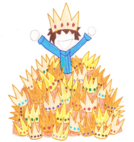 Jimmy has more crowns than Abin the Third by EurekaTrollcat
