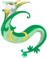 Serperior: The Regal Pokemon by Deviantroid
