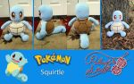 Squirtle by PlushAndStuff