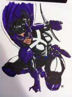 Huntress New 52 WIP Part 2 by skydemonx7
