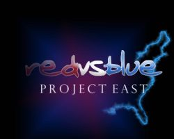 Red vs Blue Project East Cover by Dioxim