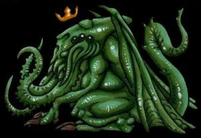 King Cthulhu by HasturtheUnspeakable