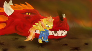 Spitfire Dragonslayer by ponyus94