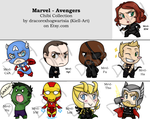Chibi Collection - Marvel - Avengers by Kiell-Art