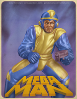 Mega Man by GaryStorkamp