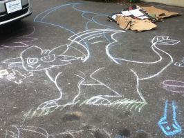 Chalk toothless by jhhgdhjfdtyjvcxdfghj