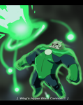Kilowog's Special Move by beardrooler