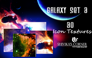 Galaxy Set 3 Icon Textures by spiritcoda
