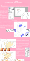 Tutorial - Lineart and Skin by Lady-Nightstars