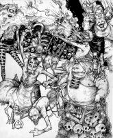 Circus of the Damned by grimhouse