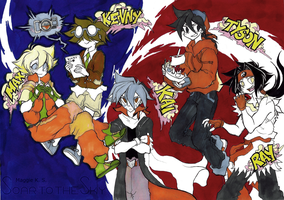 Bladebreakers Designed drawing By Maggie by I-Am-Bleu