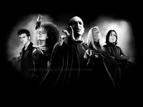 My 5 Favourite Death Eaters by KMeaghan