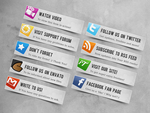 Envato Profile Buttons by watracz
