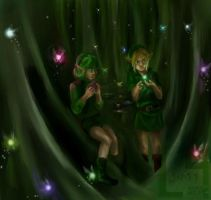 Dance of the Faeries by LUMIY4