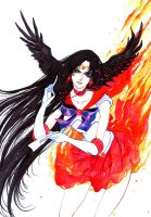 Sailor Mars by XViolacea