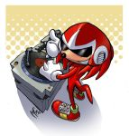 Knuckles Comission by MarcelPerez