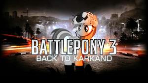 Battlepony 3 Wallpaper by RDbrony16