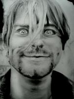 KURT COBAIN PORTRAIT NEVERMIND :) by BUMCHEEKS2