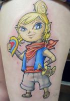 Zelda tat of Tetra by Klyde-Chroma