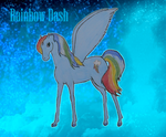 Rainbow Dash by Laurindie