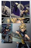 Final Fantasy VII page5-colour by Mercurio2539