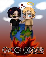 go - good omens by thiliart