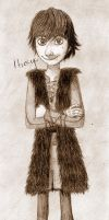 Hiccup the Hero by JojolovesAmelia