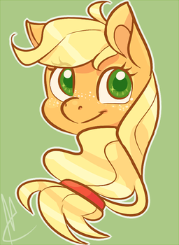apple horse by skippyrip