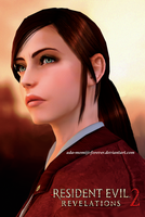 Claire Redfield Revelations 2 Render for Vicky by Ada-Momiji-Forever