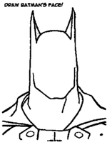 Draw batman by SSGotenks650