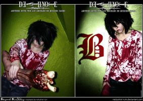 Death Note Cosplay: Beyond Birthday: The Beginning by Redustrial-Ruin