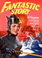 FANTASTIC STORY MAGAZINE cover art by peterpulp