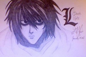 L From Death Note by LCMorganTDA
