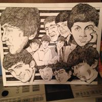 Inky Beatles by rori77