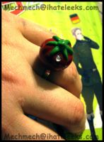 APH Tomato Ring by colormedisturbed