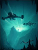 Underwater Explorers by Sycra