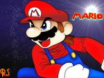 Super Mario Color by Rafeal