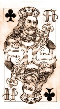 King of Clubs sketch by WillemXSM