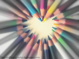 Pencil love by MaartjePhotography