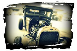 Hot Rod Johnny's Model A by scream619