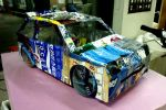 Lancia Delta Integrale made out of aluminum cans by toyonda