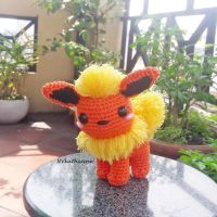 [DISCOUNTED SHIPPING] Flareon amigurumi by NVkatherine