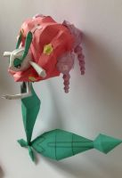 Florges Papercraft view 3 by giden445