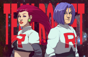 TEAM ROCKET by RoughReaill