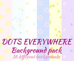Dotted background pack by UszatyArbuz
