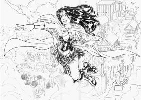 Wonder Woman by acir