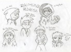 Raimundo's sketches by casty-chan