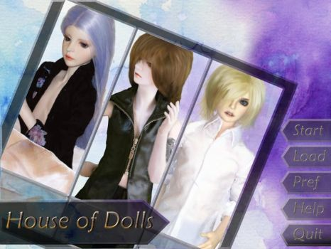 Visual Novel - House of Dolls by Lesleigh63